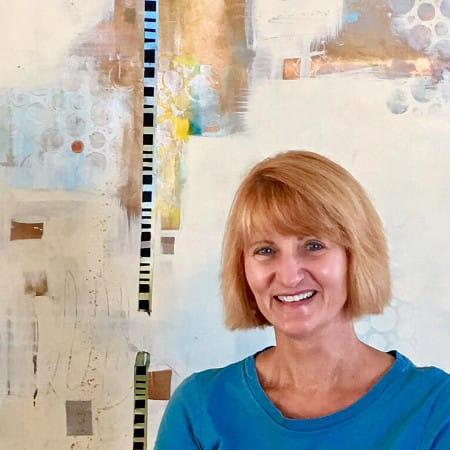 Linda Shaffer Red Pearl Art
